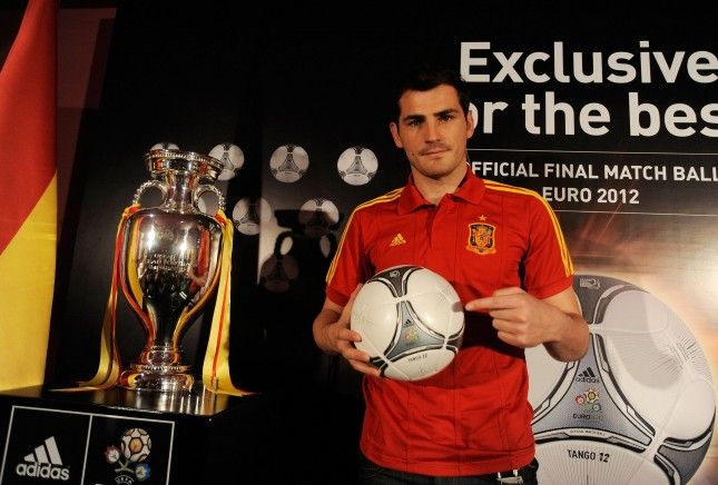 Unveiling of Official adidas 2012 UEFA European Championship Final Ball