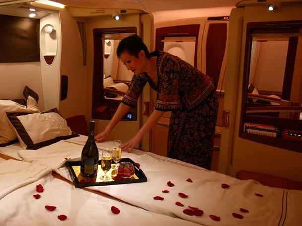 Singapore Airlines Airbus A380 Suite