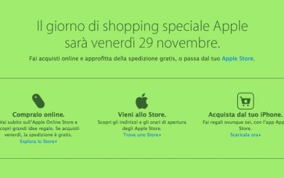 Apple Black Friday 2013: sconti col braccino corto
