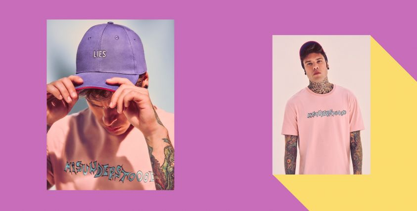Fedez for Bershka: capsule collection Misunderstoood