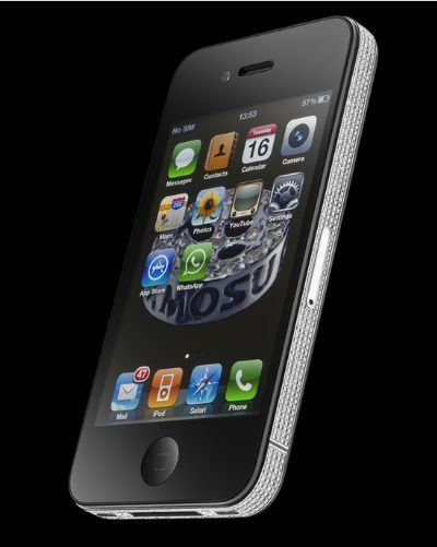 iPhone 4 Diamond Spider in diamanti speciali riutilizzabili