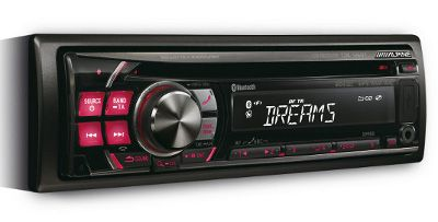 Alpine CDE-126BT: autoradio con vivavoce Bluetooth