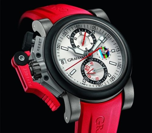 Orologio del 6 Nazioni di rugby: Graham Chronofighter Oversize Referee