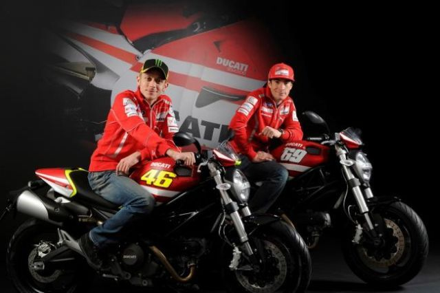 Ducati Monster Art GP Replica: Valentino Rossi o Nicky Hayden?