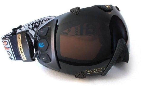 Recon Ski Glass: occhiali da sci con Android