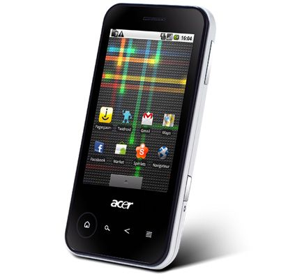Acer beTouch E400: smartphone Android full touchscreen