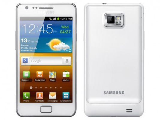 Samsung GALAXY SII Pure White: l'Android elegante