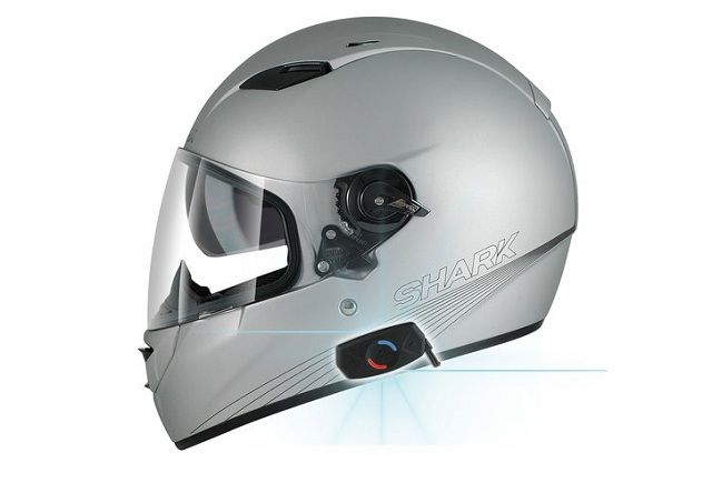 Sharktooth: kit Bluetooth per caschi Shark-Helmets