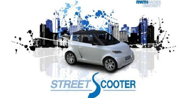 StreetScooter: auto elettrica low-cost nel 2013