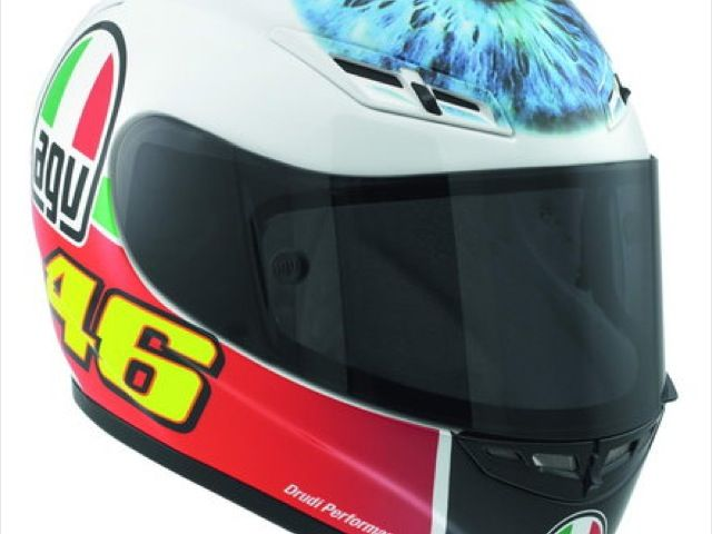 AGV GP-Tech Limited Edition: il casco di Valentino Rossi al MotoGP