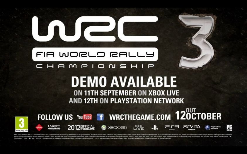World Rally Championship 3, demo del racing game rallystico in uscita
