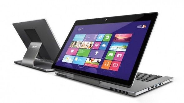Acer Aspire R7: notebook che diventa giga-tablet [FOTO&VIDEO]