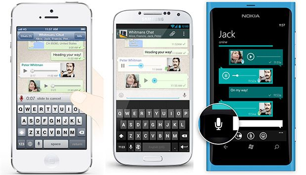 WhatsApp e messaggi audio: usalo come walkie talkie