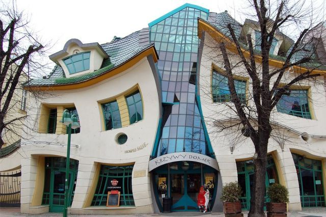 Crooked House in Sopot