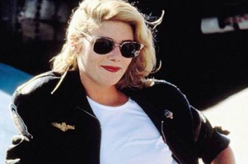 Kelly McGillis ai tempi di Top Gun