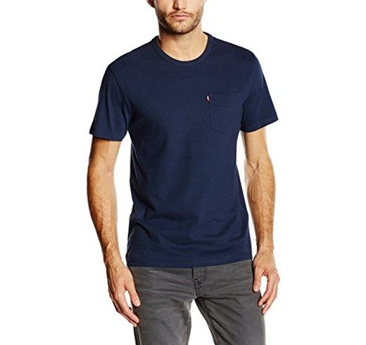 Levi's   Ss Sunset Pocket Tee, T shirt da uomo amazon prime day 2017 offerte maschili