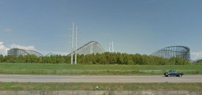 New Orleans Roller Coaster