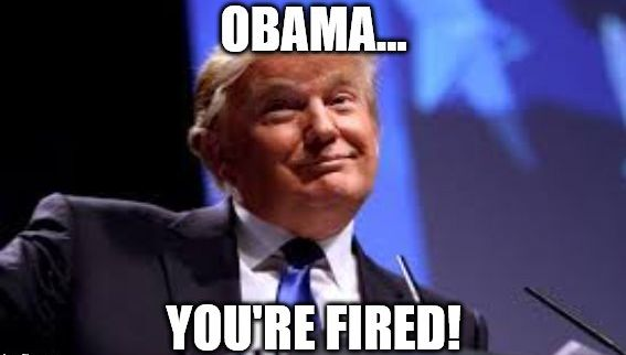 Obama you are fired
