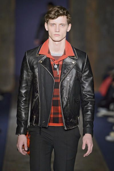 Outfit uomo inverno 2018 coach giacca pelle