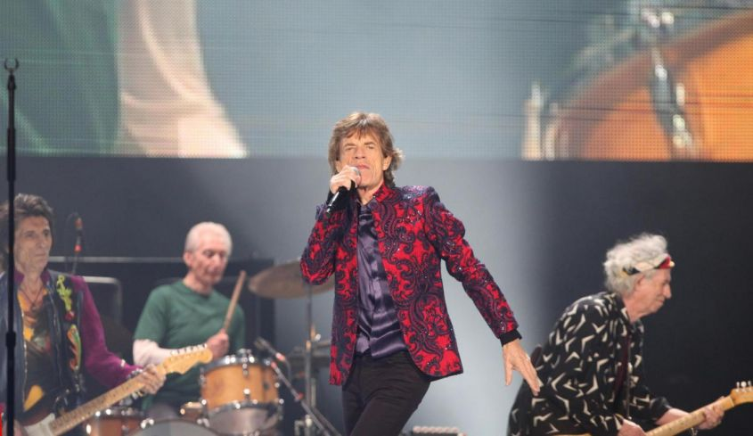I Rolling Stones in concerto