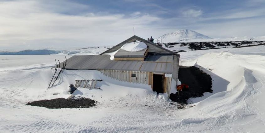 Scott's Hut in Antartide