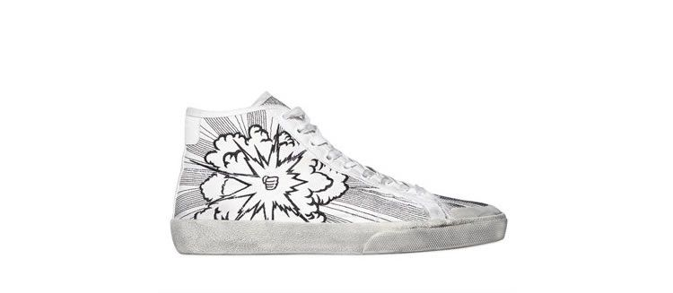Sneakers alte Saint Laurent