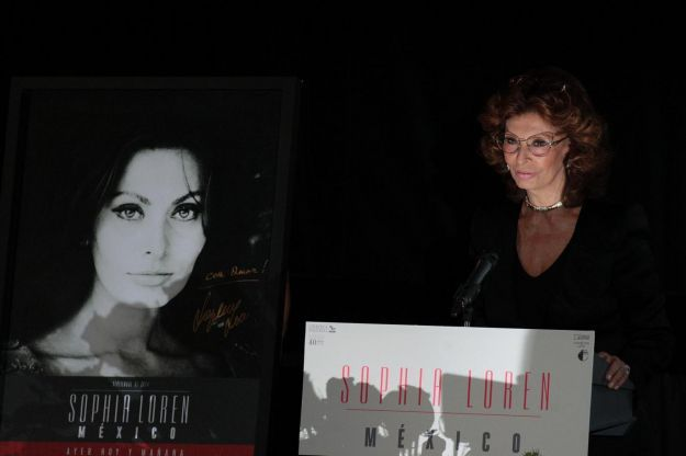 Sophia Loren in Messico