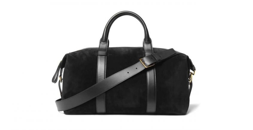 Tom Ford borsa in suede