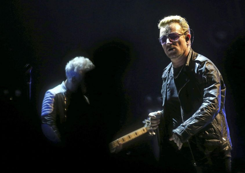 U2 'Innoncence + Experience' tour in Spain