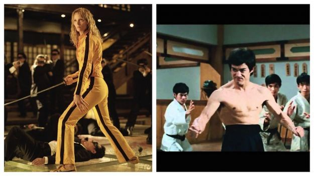 Uma Thurman in Kill Bill come Bruce Lee in Dalla Cina con furore