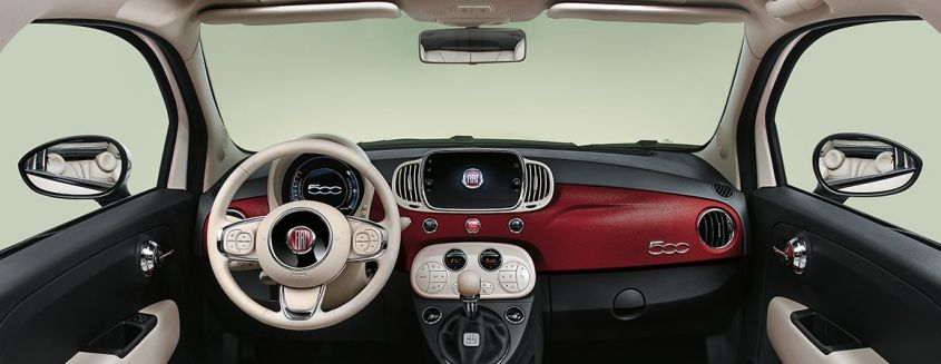 fiat 500 sessantesimo interni