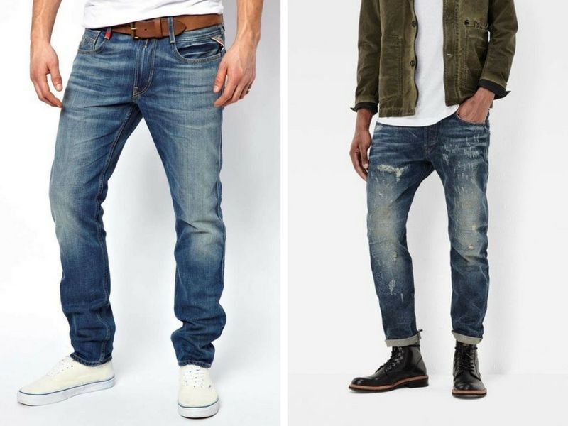 jeans fisico magro