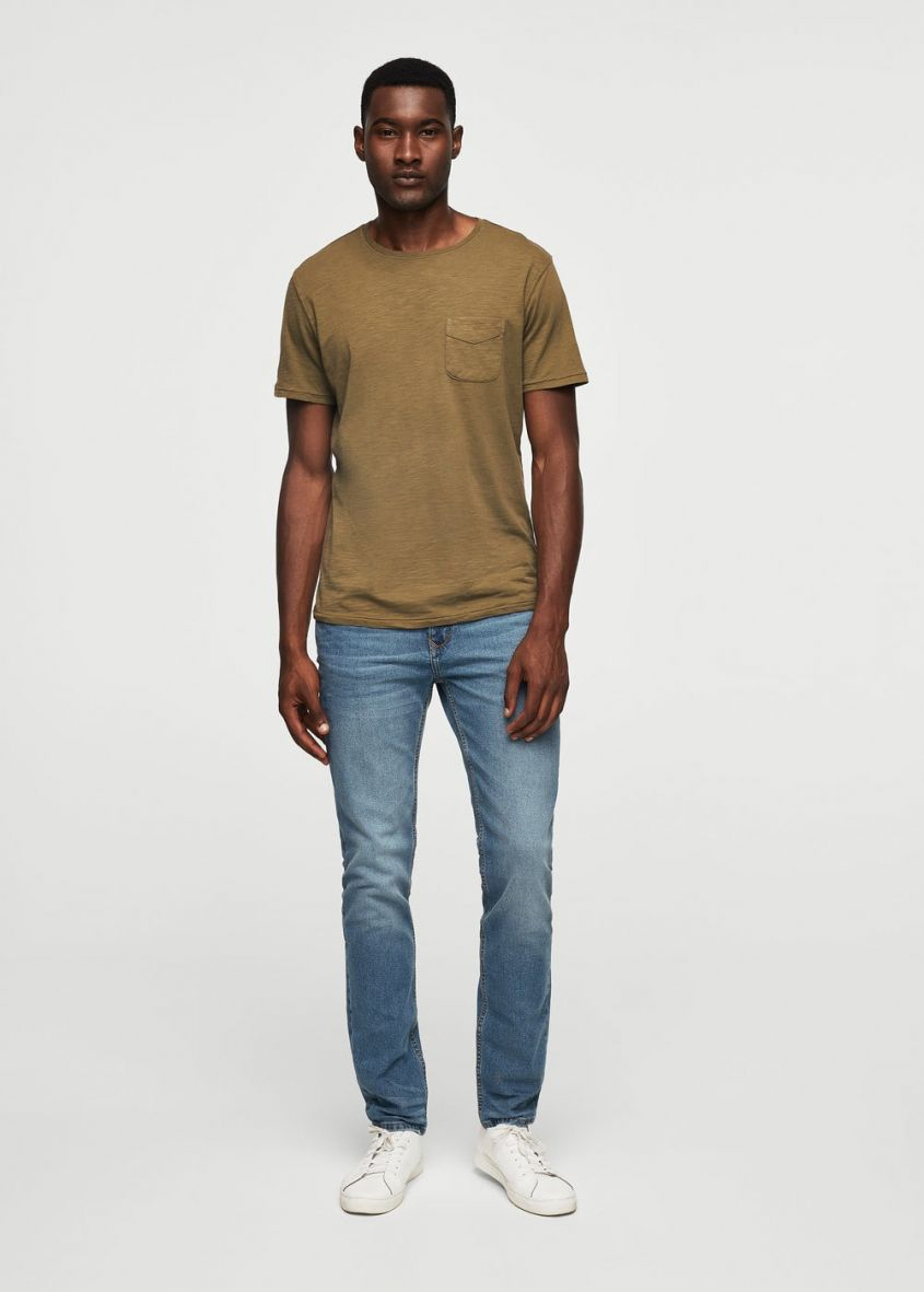 mango jeans silm fit