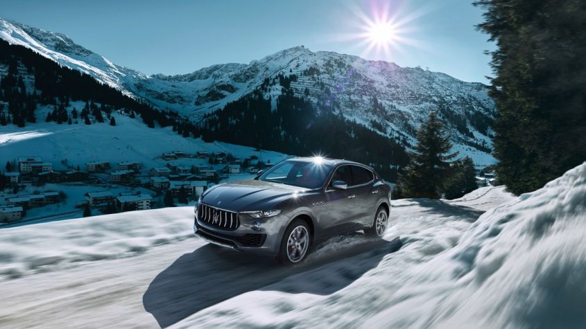 maserati levante winter