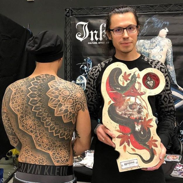 milano tattoo convention best tribal 2018