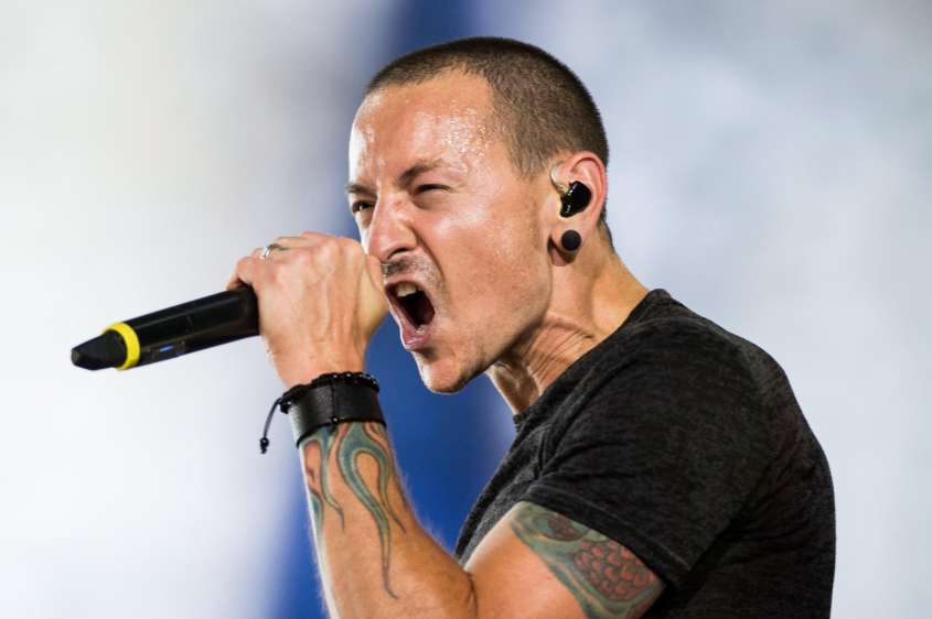 Chester Bennington of the US rock band Linkin Park dies at age 41