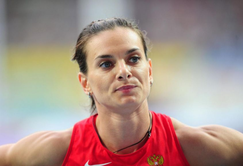 Yelena Isinbayeva File Photo