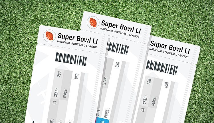 super bowl ticket