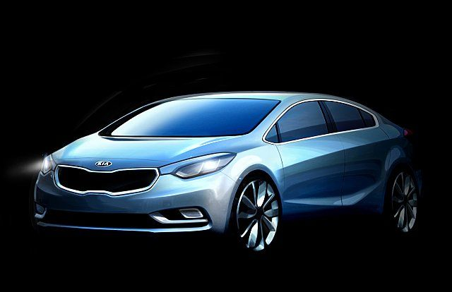 Kia K3 2013, il debutto al Salone di Los Angeles