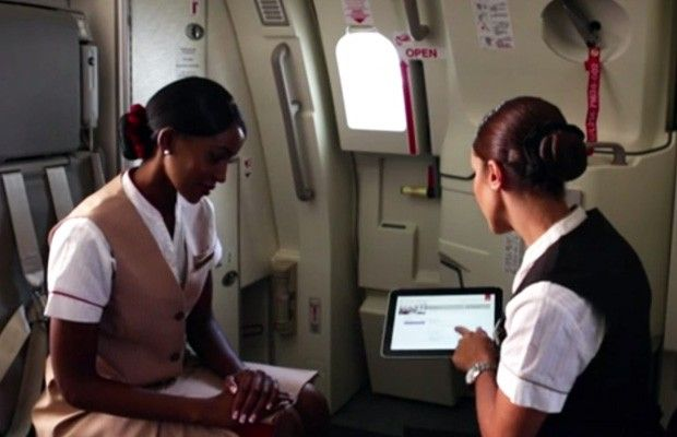 Windows 8 vola in prima classe con Emirates [VIDEO]