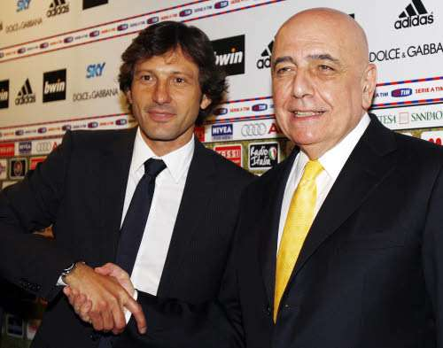 Galliani: non so come reagirei con Leonardo all'Inter
