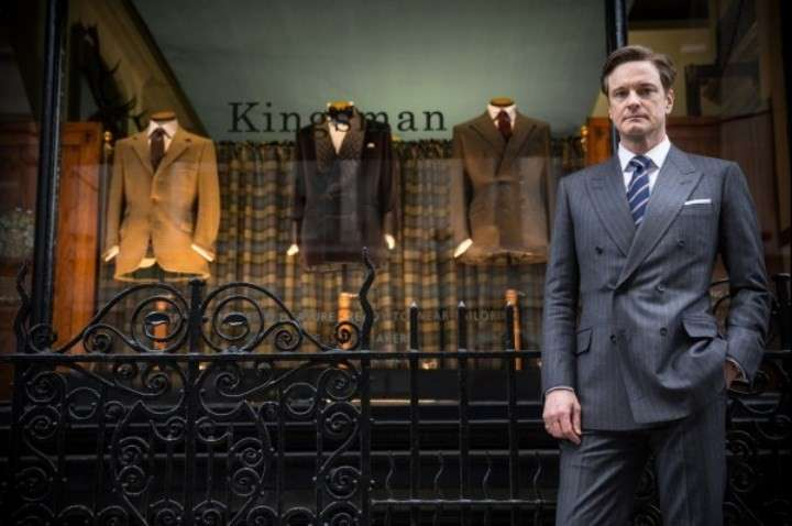 Look di Colin Firth