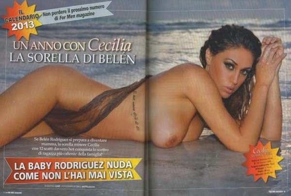 Cecilia Rodriguez calendario 2013 For Men