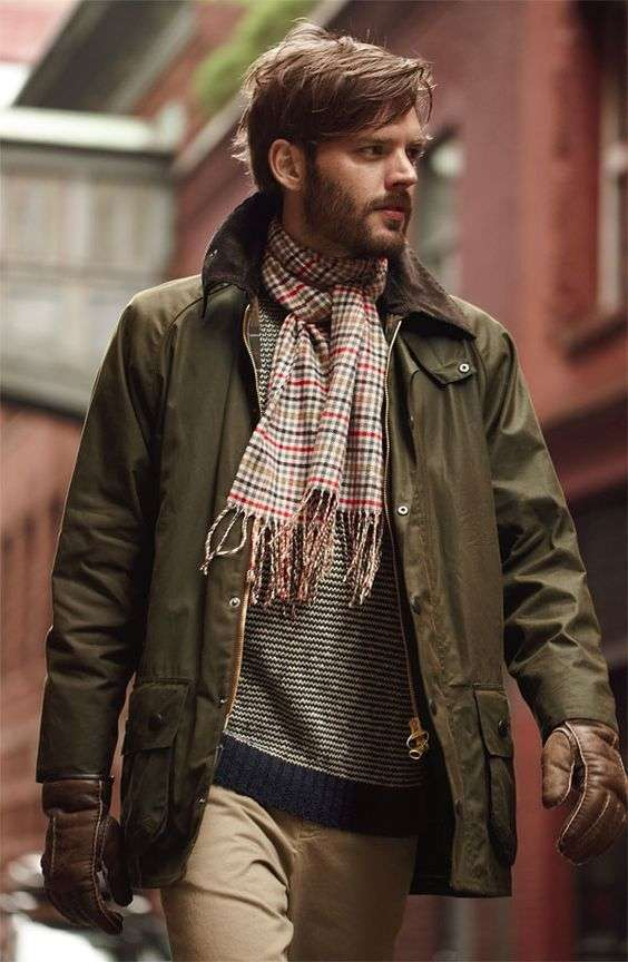 Giacca Barbour Pelle