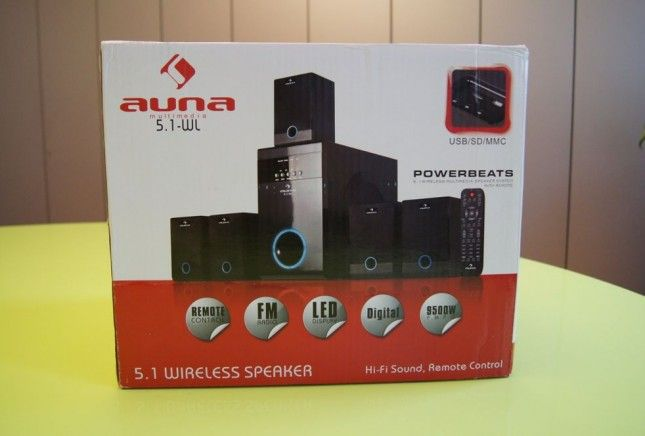 Auna Multimedia 5.1-WL
