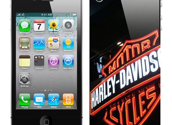 Cover iPhone 5 Harley