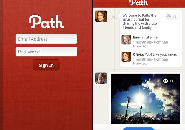 Path per Android