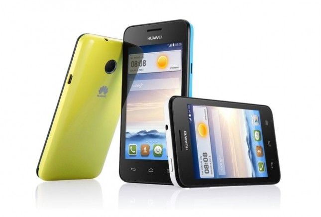 Huawei-Ascend-Y330 giallo