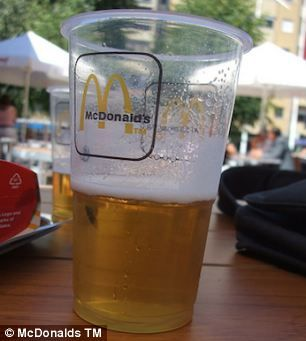 Europe birra che accompagna i burger