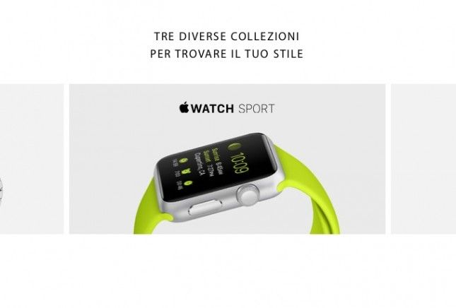 Apple Watch tre varianti